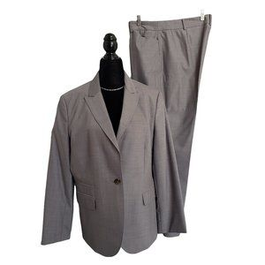 346 BROOKS BROTHERS Gray Summer Suit 14/16